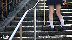 Kogal Walking Up Steps