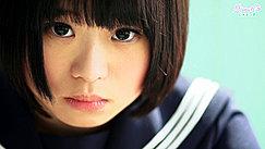 Kogal Minori Short Hair Framing Her Cute Face Dark Expressive Eyes