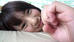 Nozomi With Hand Raised