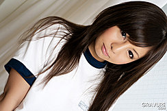Cute Teen Hikaru Aoyama Long Hair Down Her Shoulders