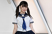 Teen Japanese Girl Shizuku Stripping Kogal Uniform