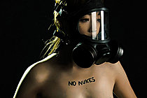 Small Titted Ayaka Minamino Nude In Gas Mask