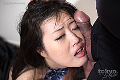 Cock Pressed Against Her Face